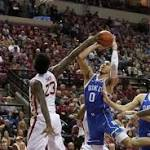 No. 9 FSU beats No. 7 Duke for record 11th straight win (Jan 10, 2017)