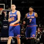 Carmelo Anthony struggles in Knicks' loss to Pistons