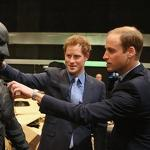 Prince William: 'Does this Batmobile come with a baby seat?'