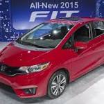 Honda to Update 12000 Fits Sold to Enhance Crashworthiness