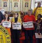 10 people seeking action on NC minimum wage arrested