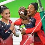 Anthony and Wanda's golden girl, gymnast Laurie Hernandez