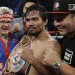 Pacquiao dodges Bradley punches but not questions on Mayweather