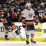 Anaheim Ducks Fight Back, Fall 3-2 in Overtime to New York Islanders