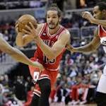 Bulls win 5th in a row, beat Wizards 96-78