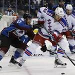 Rangers 6, Avalanche 3