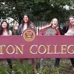 Boston College's Taylor-ed tweet