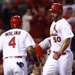 Five homers help Wainwright to first home win