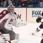 Avs place Varlamov on IR