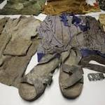 Clothing of 53 victims exhumed at Peru base shown