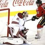 Arizona Coyotes defense porous in loss to Calgary Flames