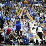 Curry has overtime answer for Warriors' lack of big men