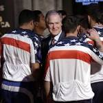 George W. Bush cheers on 'invincible' veterans for '16 games