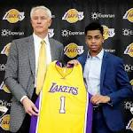 Lakers hope legacy continues with D'Angelo Russell