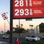 Gasoline prices coming down in Southern Nevada, may fall further