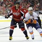 Capitals come out flat, fall in Stanley Cup playoff opener to Islanders, 4-1