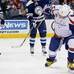 Alex Ovechkin scores twice as Capitals win a physical game against Columbus