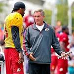 Redskins GM: No Controversy Between RG3, Coach