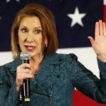Ex-CEO Fiorina enters GOP field, hits at Clinton