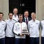 Andy Murray and victorious Davis Cup team visit Downing Street - but David ...