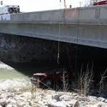 Utah toddler trapped upside-down in vehicle that fell into river