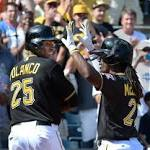 Volquez settles in for win