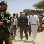 Cuomo tours tunnels along Israel-Gaza border