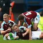 Arfield puts the 'smash' in Burnley smash and grab
