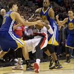 Trail Blazers fall to Golden State Warriors as offense, late-game calls betray them