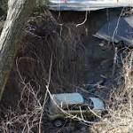 Huge sinkhole in South Amboy swallows car