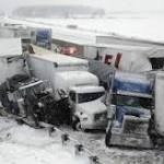 3 Dead After Pileups On Snowy Ohio Turnpike