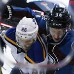 Blues give up late goal, lose in shootout