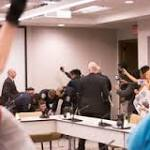 Protesters arrested at BoG meeting