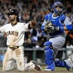 Giants Comeback, Outlast The Dodgers In A 12-Inning Marathon