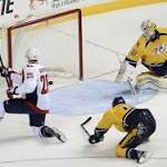 Capitals vs. Predators: Washington can only manage one point in shootout loss