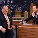 Christie tells 'Tonight Show' host Jimmy Fallon he'll make 2016 decision by June