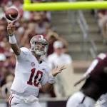 Bengals take QB AJ McCarron, upgrade defense