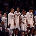 WATCH: UConn loses, Ollie T'ed up after throwing papers on court vs. Maryland