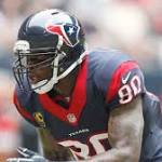 Andre Johnson at Texans camp