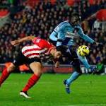 Hammers halt Southampton march after Adrian sees red