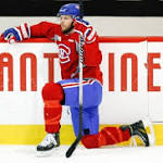 Canadiens coach Therrien moves forward Vanek to fourth line at practice