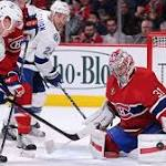 Goalie faceoff could highlight Lightning-Canadiens series