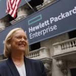 HPE CEO Meg WhitmanHPE