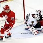 Blackhawks Renew Red Wings Rivalry