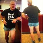 Who wears short shorts? One dad did, to teach his daughter a lesson