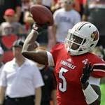 No. 9 Louisville dominates Ohio 49-7