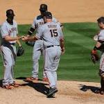 Dickerson powers Rockies past Giants