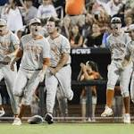 Perfect timing: First home run of College World Series propels Texas past UC ...