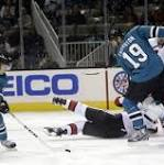 Tomas Hertl leaves with injury as Sharks win 5th