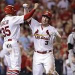 No fracture for Holliday after pitch hits him in nose